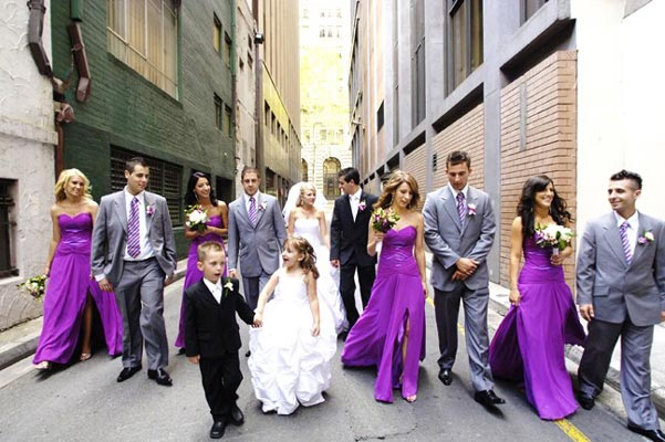 Purple Wedding Dresses And Suits : Latest trends for bridesmaid dresses