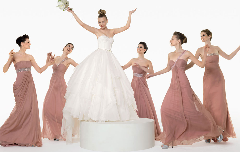 Rosa-Clara-Pink-Bridesmaid-Dress