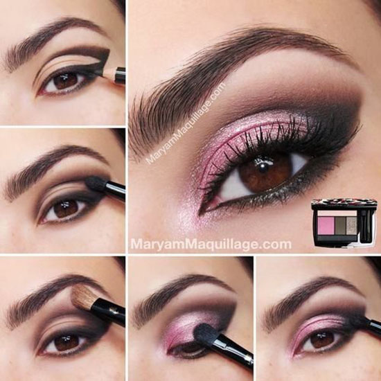 Smokey-Pink-Eyeshadow-Tutorial