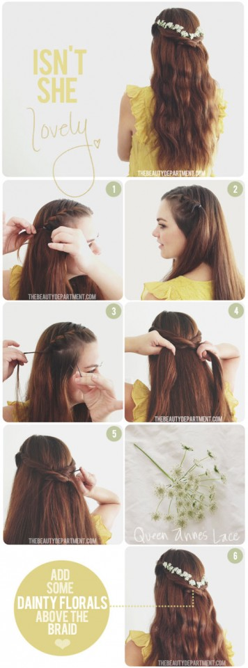 easy hairstyles without curling iron pa0RczUe