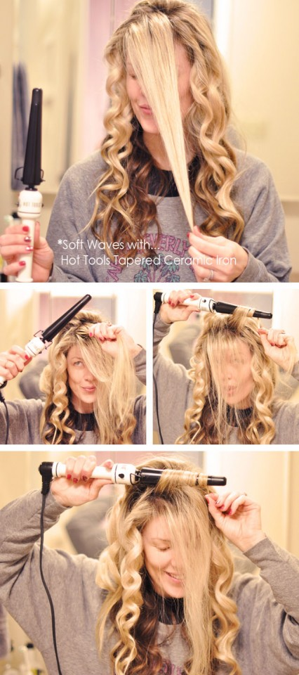 beach waves- hair-hot tools ceramic curling wand (1)