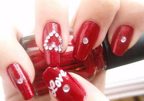 glamour-red-nail-designs