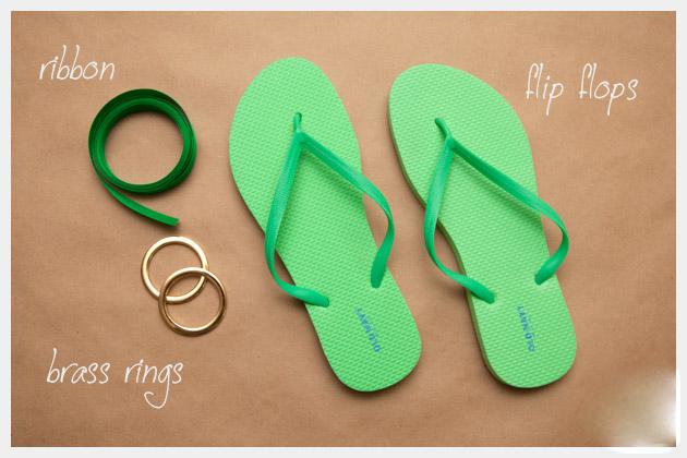 10 DIY Flip Flops Ideas