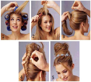 Remarkable Bridesmaid Hairstyles How To Do Yourself The Holle Hairstyles For Men Maxibearus