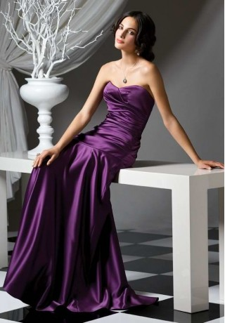 satin-strapless-sweetheart-a-line-long-bridesmaid-dress