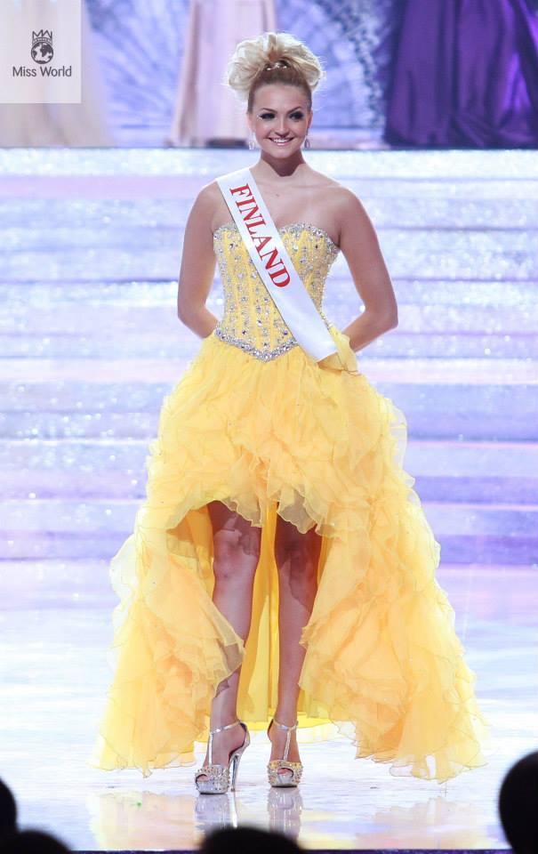 Miss World 2013 Dresses