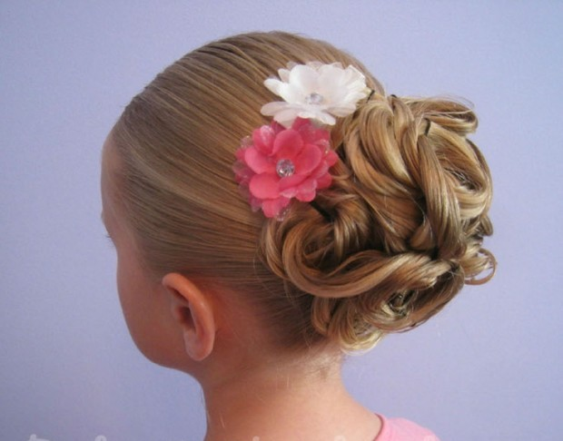 18 Creative And Unique Wedding Hairstyles For Long Hair: 25 Cute Hairstyle Ideas For Little Girls