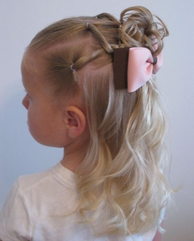 Cool 25 Cute Hairstyle Ideas For Little Girls Hairstyles For Women Draintrainus