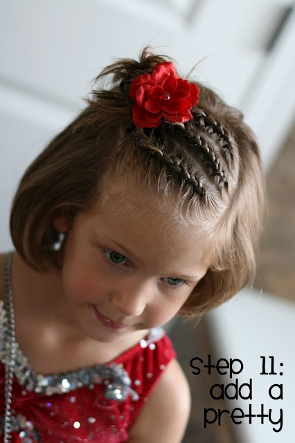Superb 25 Cute Hairstyle Ideas For Little Girls Short Hairstyles For Black Women Fulllsitofus