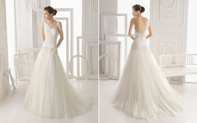 Aire-Barcelona-2014-one-shoulder-A-line-bridal-gown