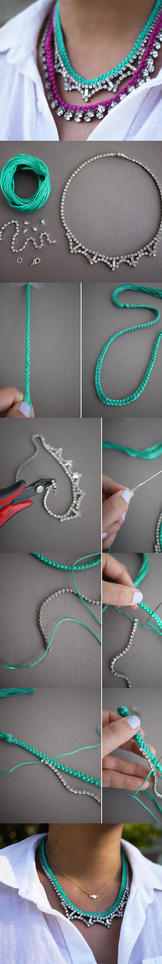 Diy Design It Yourself: DIY! The Most Beautiful NECKLACE
