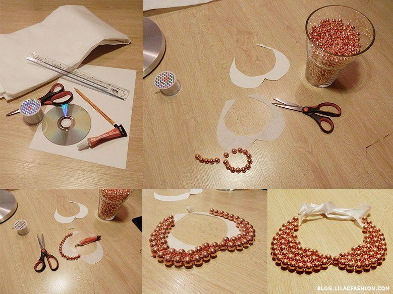 diy craft ideas 21 diy collar necklace ideas 1865