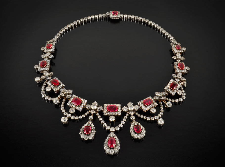 Extraordinary Red Ruby Jewelry