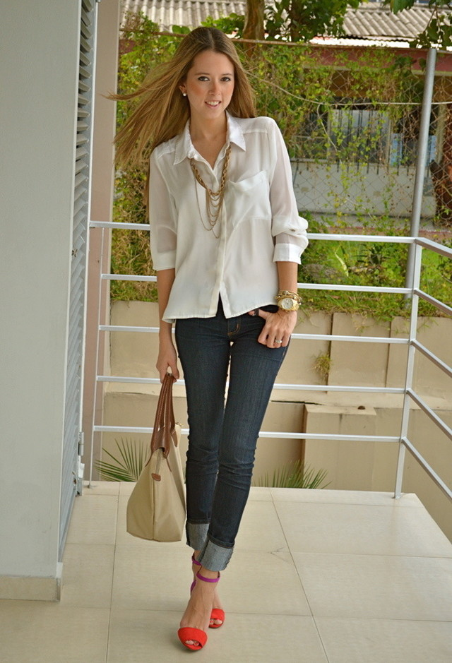 Stylish Tops Collection 2013 For Girls: 38 Stylish Work Clothes