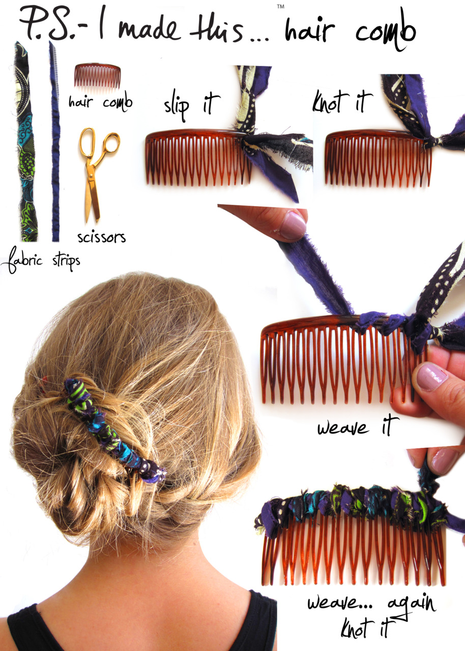 23 beautiful diy hair accessories hair comb source tumblrlrxibxep1r1qzymieo11280 tumblrlrxibxep1r1qzymieo11280 solutioingenieria Image collections