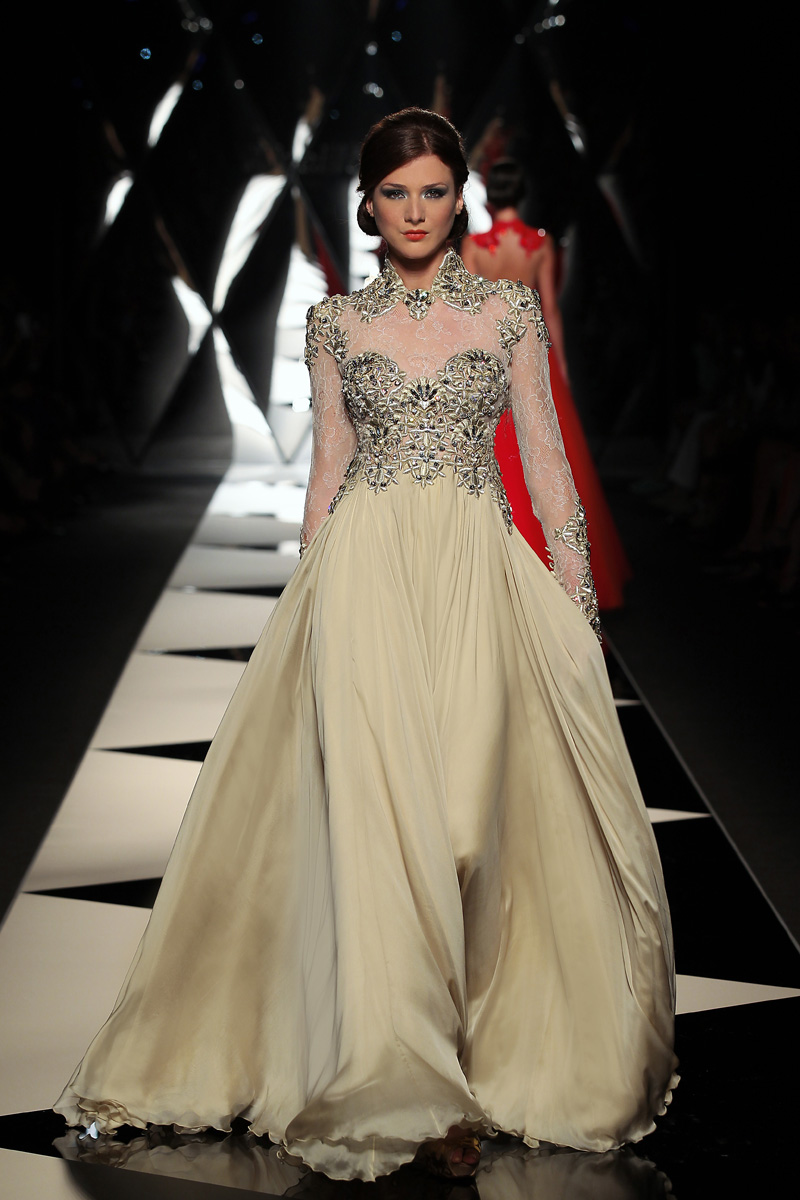 The mireille dagher fall winter 2013 14 haute couture for Haute couture designers names