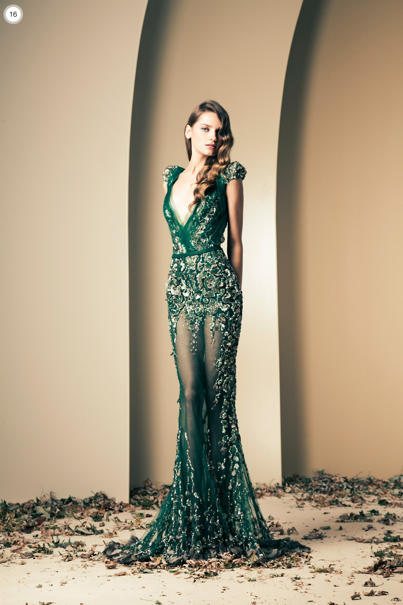 Ziad nekad haute couture 2013 2014 crem for Haute design