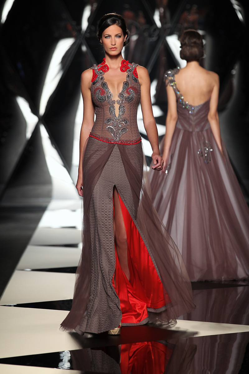 The mireille dagher fall winter 2013 14 haute couture for Haute couture fashion house