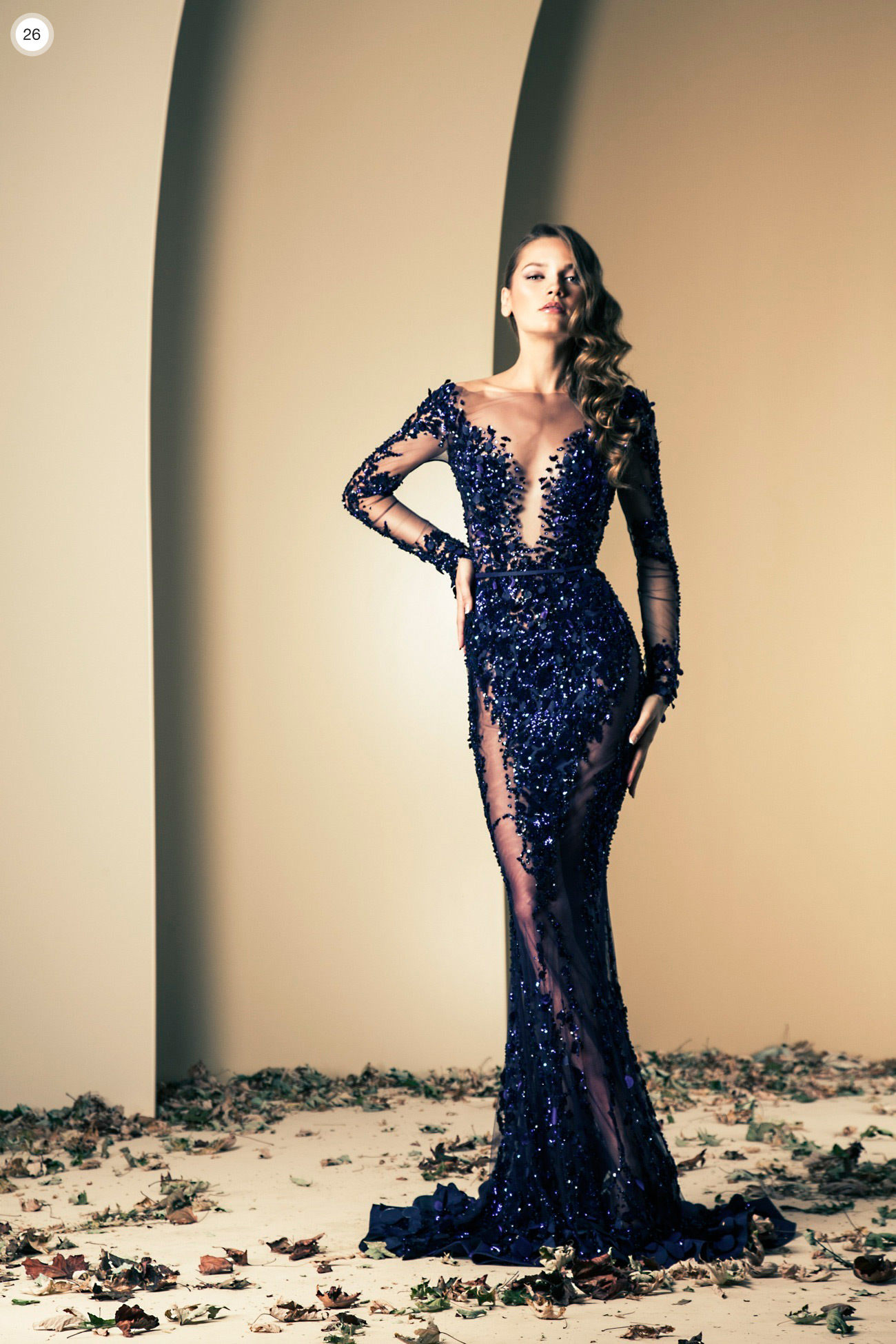 Ziad Nekad Haute Couture Fall Winter 2013 2014