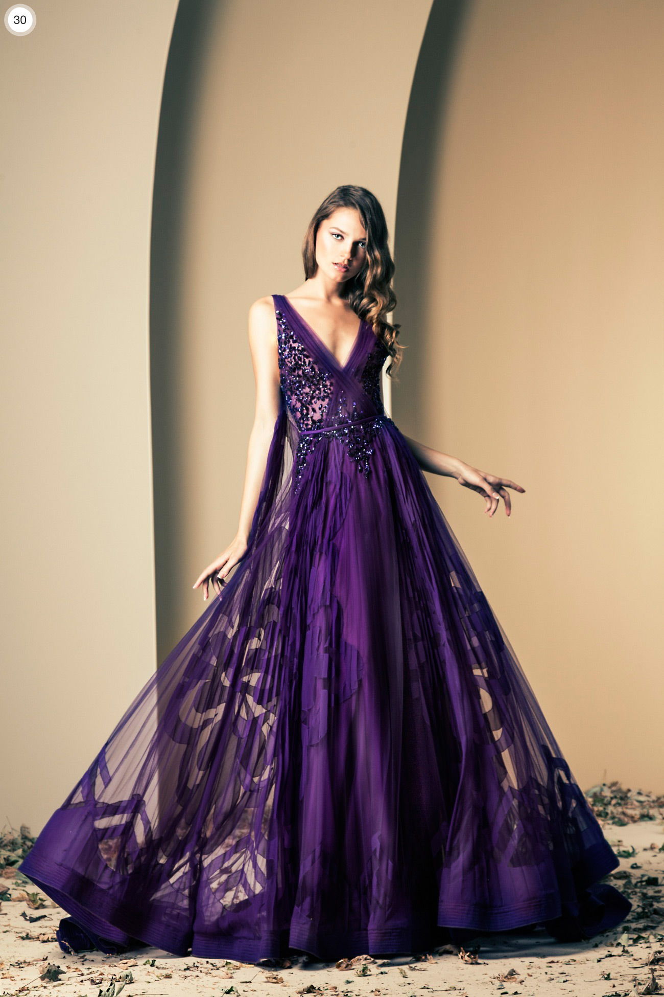Ziad nekad haute couture fall winter 2013 2014 for Designer haute couture dresses