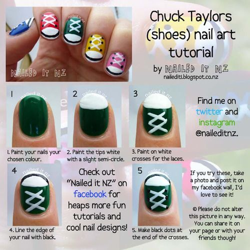 Chuck-Taylors-Nail-Art-Tutorial