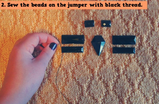 DIY CHIC EMBELLISHED JUMPER (3)