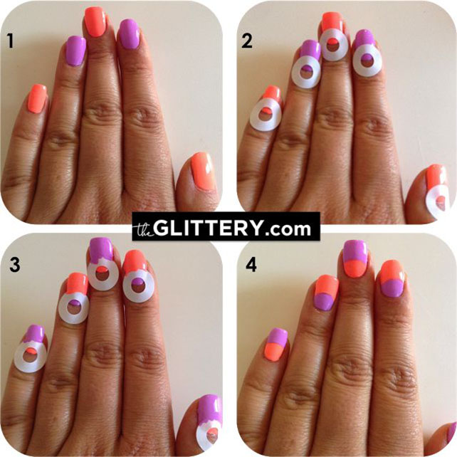 16 Truly Awesome Nail Design Techniques Easy Stripes Guff