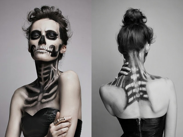 22 Spooky Halloween Makeup Ideas