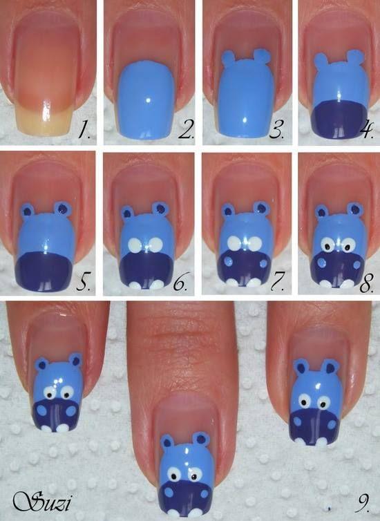 Hippo-Nail-Art-Tutorial
