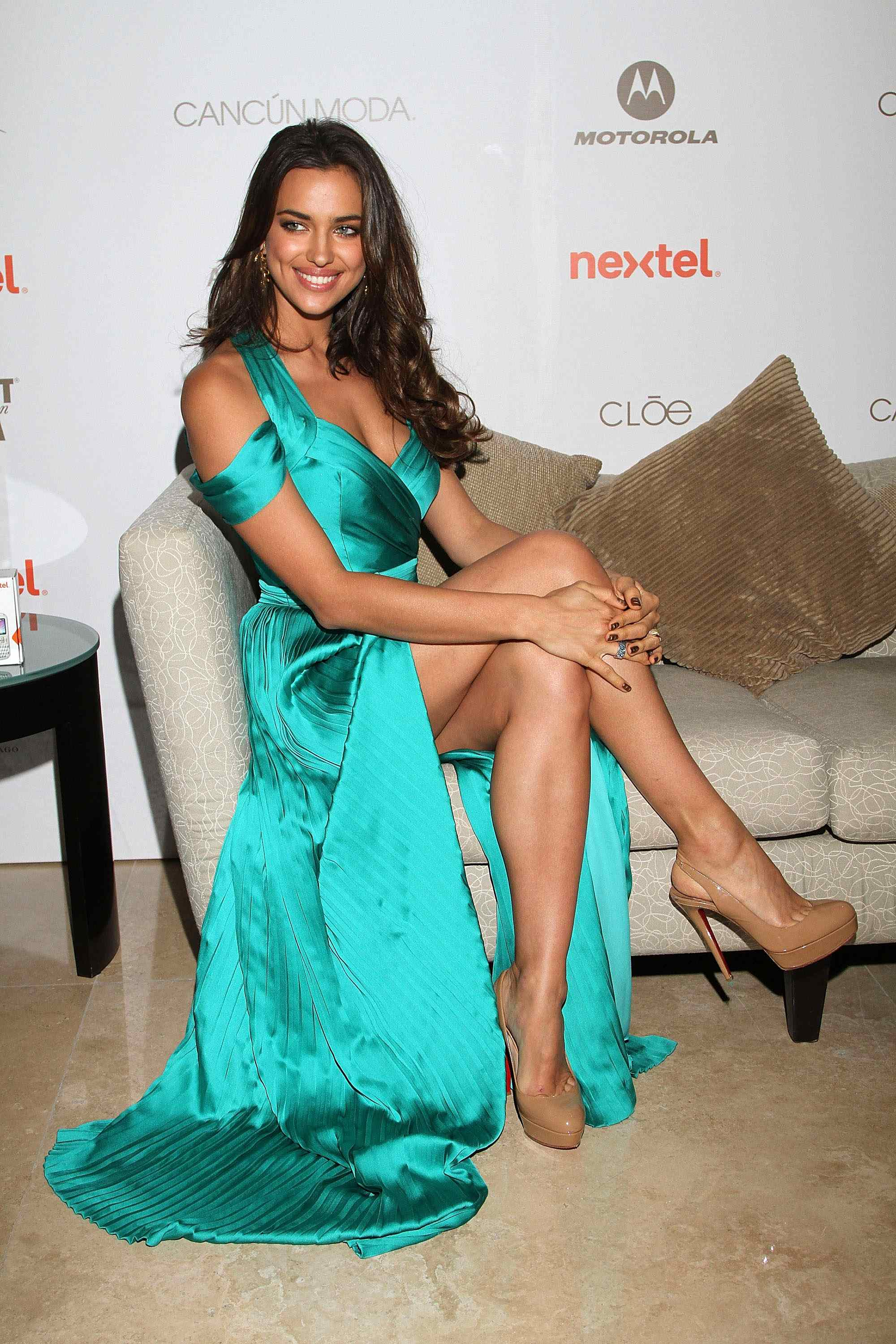 Cancun Moda Nextel 2011 - Irina Shayk Press Conference
