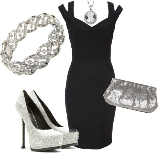 Little Black Dress, created by jaysie-sexton on Polyvore