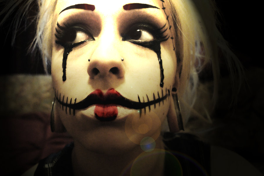 Makeup_for_halloween__by_YazzAttack