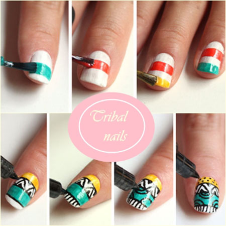Tribal-Ideas-Nail-Art-Tutorial