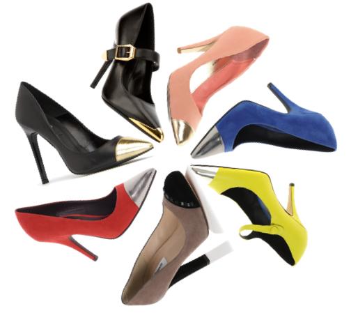 11 Trendy Cap Toe Heels