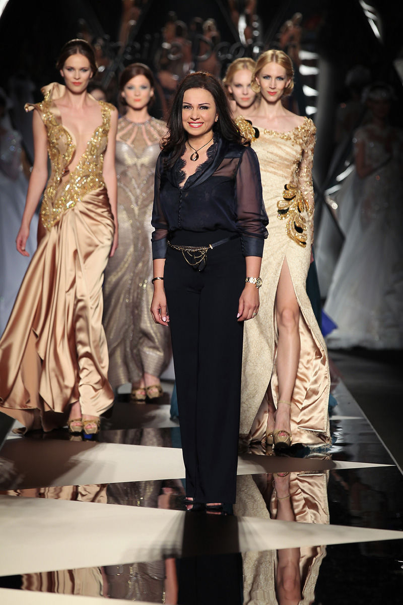 The mireille dagher fall winter 2013 14 haute couture Rome fashion designers