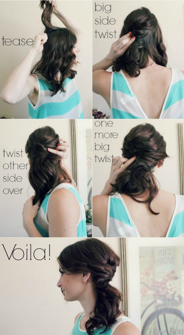 4-Step-Messy-Side-Pony
