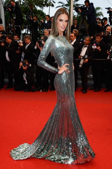 Alessandra+Ambrosio+Dresses+Skirts+Beaded+Al1l6ekfyB9l