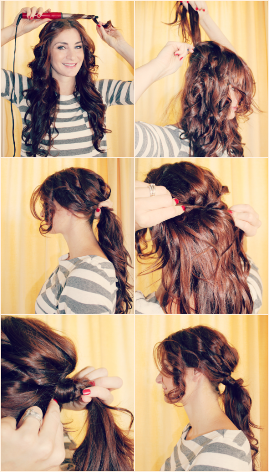 Boho-chic-pony-tail