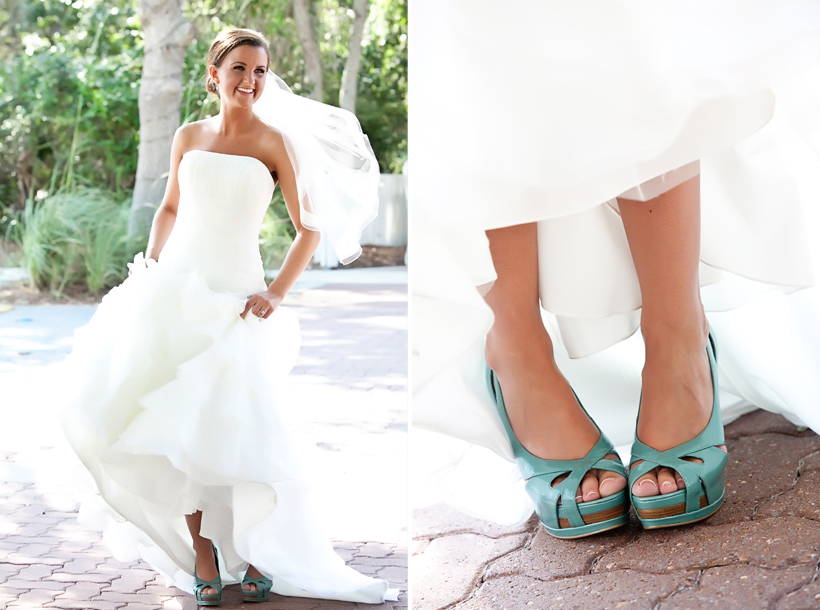 Something blue wedding shoes for Blue shoes for wedding dress