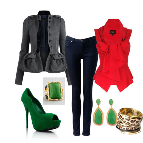 Casual-Christmas-Party-Outfits-2013-2014-Polyvore-Xmas-Costumes-Ideas-3