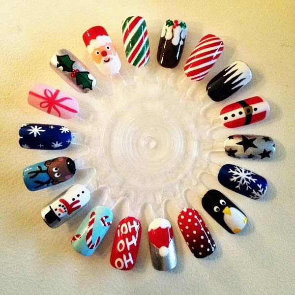 Christmas Nail Designs Tag Fashion Diva Design