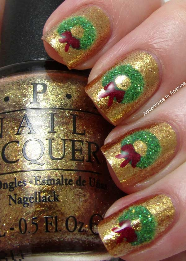31 Ideas For Your Christmas Manicure