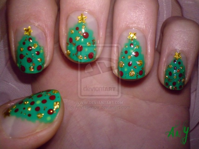 Christmas nails (1)
