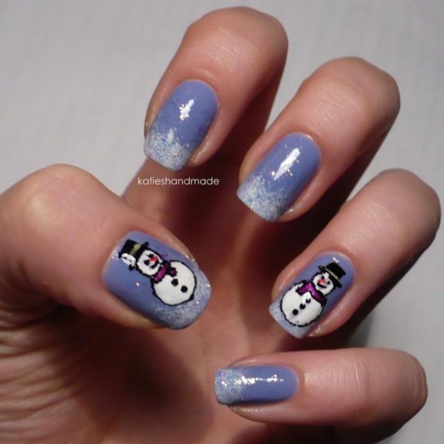Christmas nails (11)