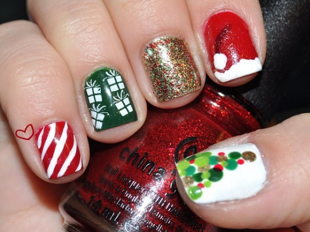 Christmas nails (12)