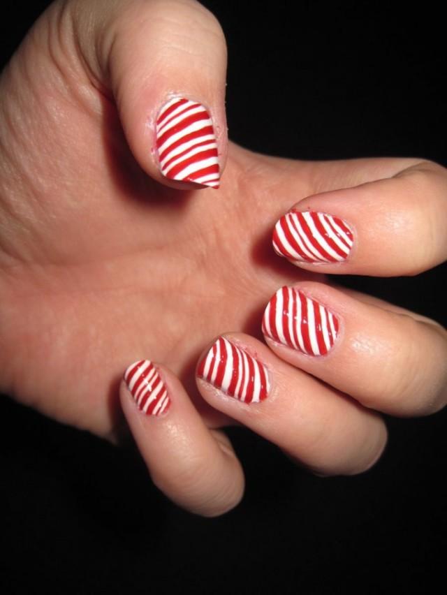 Christmas nails (14)