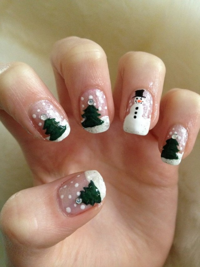 Christmas nails (16)