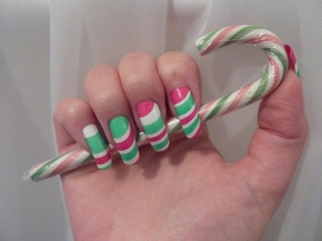 Christmas nails (17)