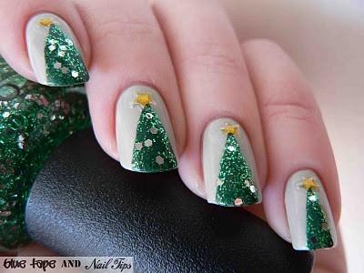 Christmas nails (19)
