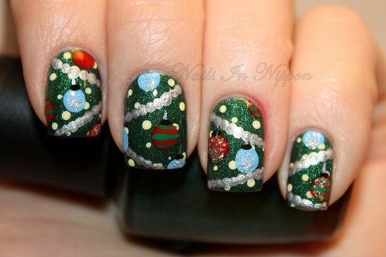 Christmas nails (21)